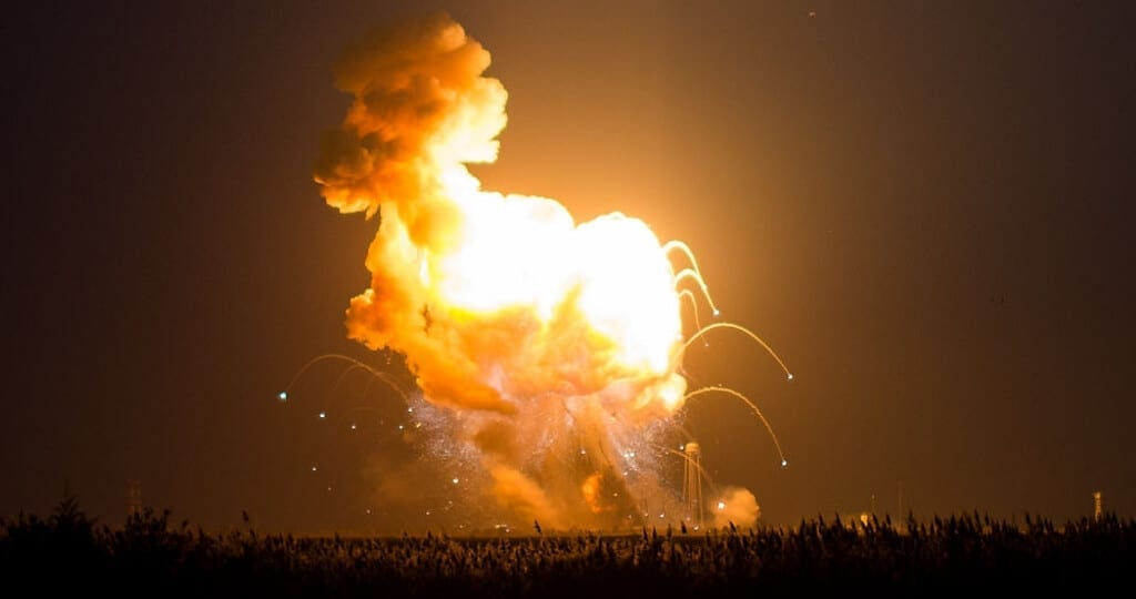 Antares Orb-3 launch failure of October 2014