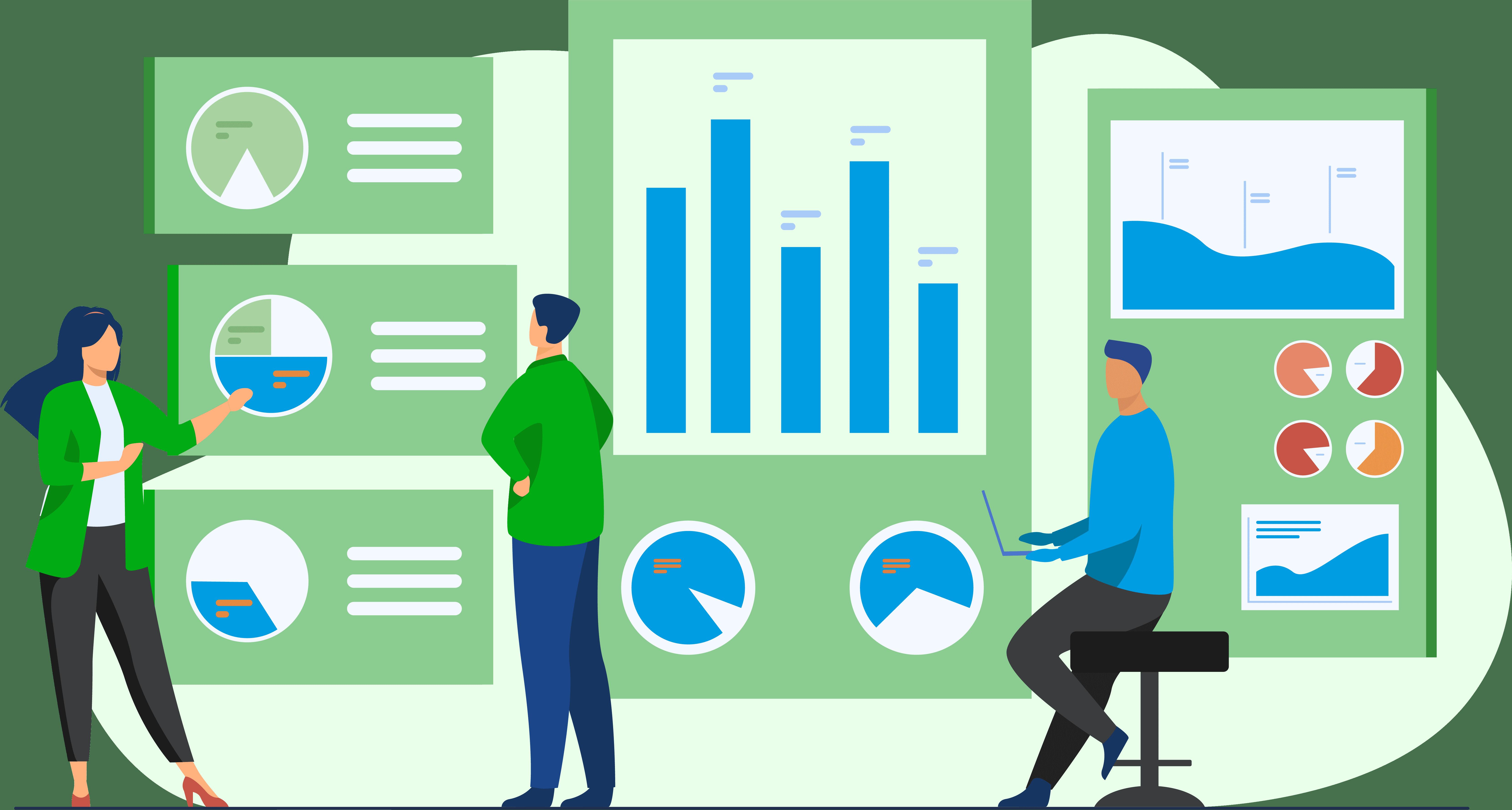 Illustration of analytics
