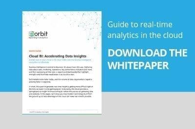 Cloud BI: Accelerating data insights - Download Whitepaper